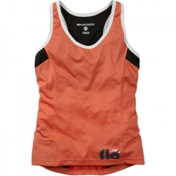 Maillot sin mangas Madison chica - Flo - CORAL