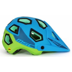 Casco MTB All Mountain MIPS ENDURO AZUL VERDE
