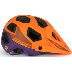 Casco MTB All Mountain MIPS ENDURO NARANJA LILA