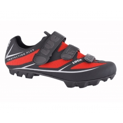 Zapatillas LUCK MATRIX MTB NEGRO ROJO PROTECTION PLUS