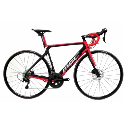 Bicicleta MSC ROAD ELYSIUM CARBON R RED WHITE