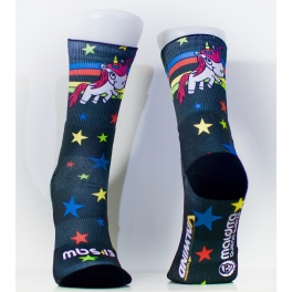 Calcetines MBS 13 SoftAir Valwindcycles - UNICORNIO STARS