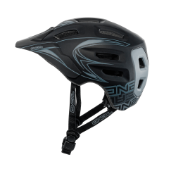 Casco Integral MTB ENDURO ONEAL DEFENDER TRIBAL NEGRO/GRIS
