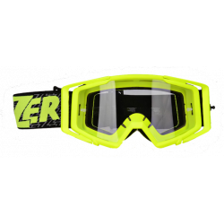 Máscara LAZER RACE AMARILLO NEGRO Clear