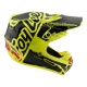 Casco DH MX TROY LEE DESIGNS SE4 POLYACRYLITE FACTORY AMARILLO 2018