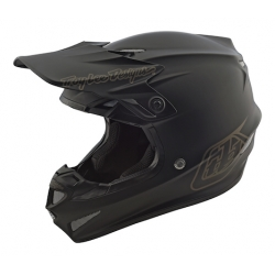 Casco DH MX TROY LEE DESIGNS SE4 POLYACRYLITE MONO NEGRO 2018