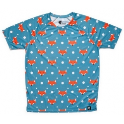 Camiseta RUNNING HOOPOE FoxBlue NIÑO