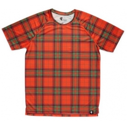 Camiseta RUNNING HOOPOE ScottishRed NIÑO