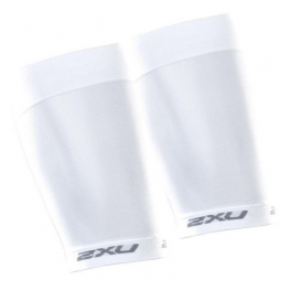 Musleras 2XU COMPRESSION QUAD SLEEVES BLANCO