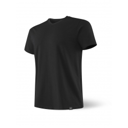 Camiseta SAXX 3SIX FIVE SS V NECK BLACK