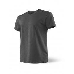 Camiseta SAXX 3SIX FIVE SS V NECK HEATHER