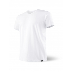 Camiseta SAXX 3SIX FIVE SS V NECK WHITE