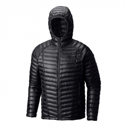 Chaqueta MOUNTAIN HARDWEAR GHOST WHISPERER HOODED DOWN NEGRO