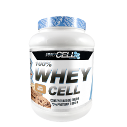 Proteína PROCELL WHEY 100% PROTEIN COOKIES 900 gramos