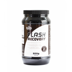 Recuperador PUSH BARS SPORT FLASH RECOVERY CACAO 800 gr