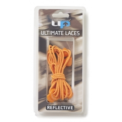 Cordones elásticos ULTIMATE PERFORMANCE NARANJA REFLECTANTE