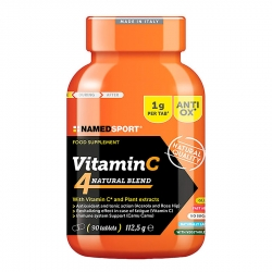 Vitamina C 4 NAMEDSPORT MEZCLA NATURAL 90 UDS