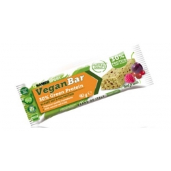 Pack 24 unidades NAMEDSPORT VEGAN PROTEIN BAR RED FRUITS 40G