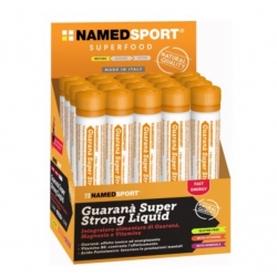 Pack 20 unidades NAMEDSPORT GUARANA SUPER STRONG LIQUID 2000MG 20 UDS
