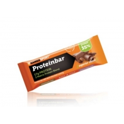 Pack 12 unidades NAMEDSPORT PROTEINBAR CHOCOLATE 50GR