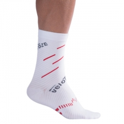 Calcetines VELOTOZE COMPRESSION ACTIVE COOLMAX ROJO