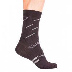 Calcetines VELOTOZE MERINO COMPRESSION ACTIVE GRIS