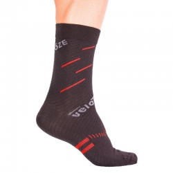 Calcetines VELOTOZE MERINO COMPRESSION ACTIVE ROJO