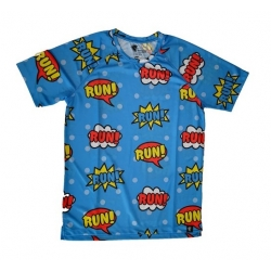 Camiseta RUNNING HOOPOE Comic