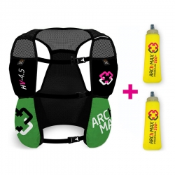 Chaleco ARCh MAX HYDRATION VEST 4.5litros + 2 SF 500ml VERDE