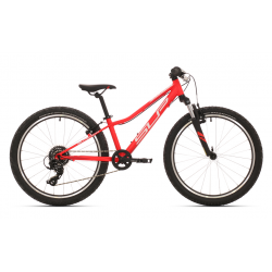 Bicicleta SUPERIOR JUNIOR KIDS RACER XC 24 NIÑO ROJO MATE