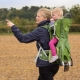 Mochila portabebés LITTLELIFE ADVENTURER S2 CHILD CARRIER VERDE