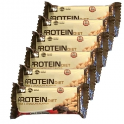 Barrita proteína OXYPRO CHOCOLATE CACAHUETE PROTEIN BAR