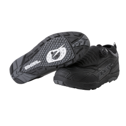 Zapatillas ONEAL LOAM WP SPD MTB ENDURO DH NEGRO GRIS