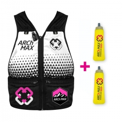 Chaleco ARCh MAX HYDRATION VEST 6litros + 2 SF 500ml ROSA MUJER