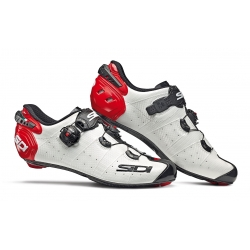 Zapatillas SIDI WIRE 2 CARBONO BLANCO NEGRO ROJO