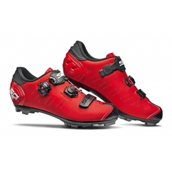 Zapatillas SIDI MTB DRAGON 5 ROJO MATE NEGRO