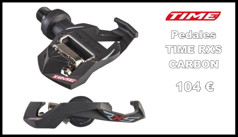 Pedales TIME RXS CARBON